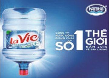 Đặt nước khoáng LaVie – 100% miễn phí giao hàng tận nơi, giá tốt