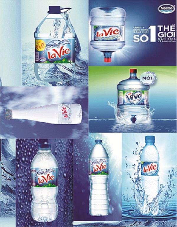 Sản phẩm nước LaVie