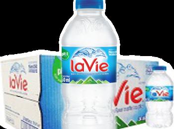 Nước suối LaVie 350ml, Thùng LaVie chai nhỏ, Đại lý LaVie giao nhanh