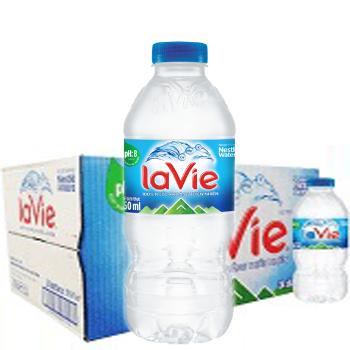 Thùng nước LaVie 350ml (24 chai / thùng)