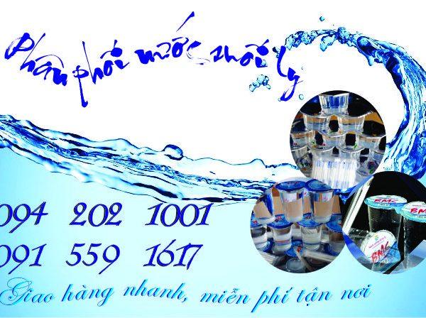 Nước suối ly WAMI, TOP, BMS – Phân phối tận nhà, tiện lợi giá tốt