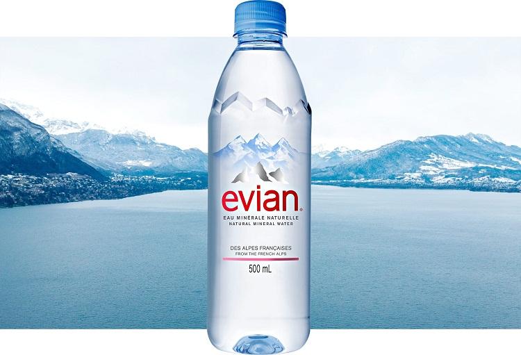 Đại lý nước khoáng Evian
