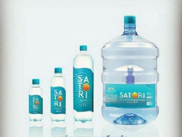 Nước khoáng SATORI công nghệ hoàn lưu khoáng – Giao hàng nhanh