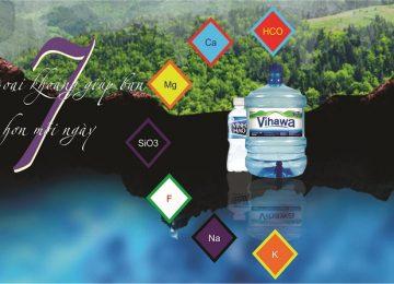 Đại lý nước khoáng Vĩnh Hảo tại TPHCM, Vihawa, giao hàng nhanh