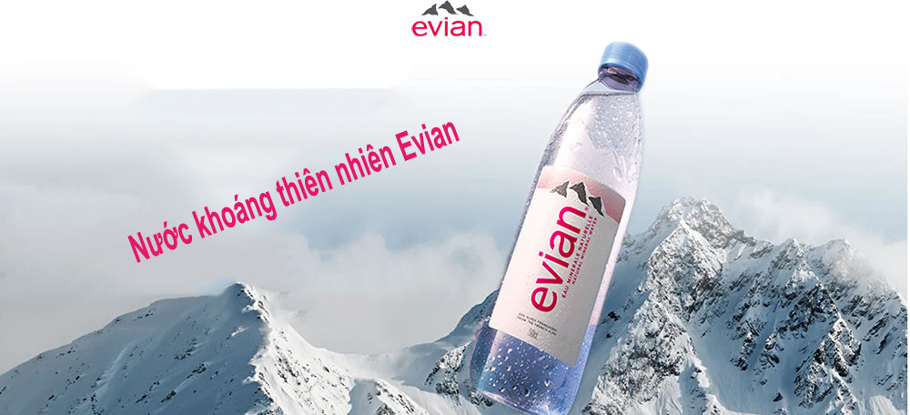 Nước khoáng thiên nhiên Evian