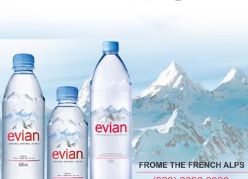 Nước khoáng Evian có tốt không? Ở đâu bán nước suối Evian