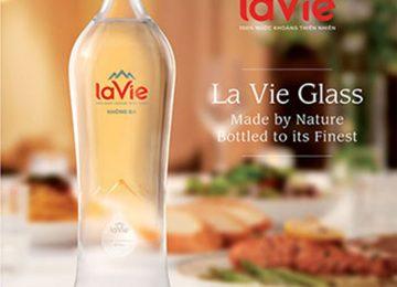LAVIE chai thủy tinh, Nước Suối Đóng Chai Thủy Tinh, giao miễn phí
