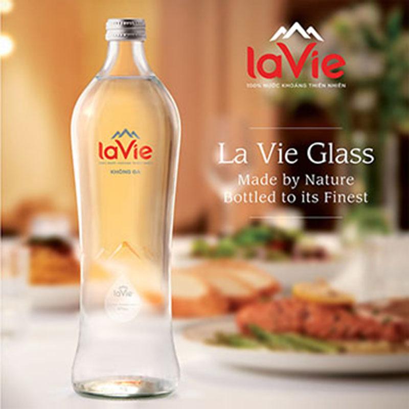 LaVie chai thủy tinh