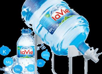 GỌI NƯỚC UỐNG ĐÓNG BÌNH – LaVie thương hiệu số 1 trong tiêu dùng
