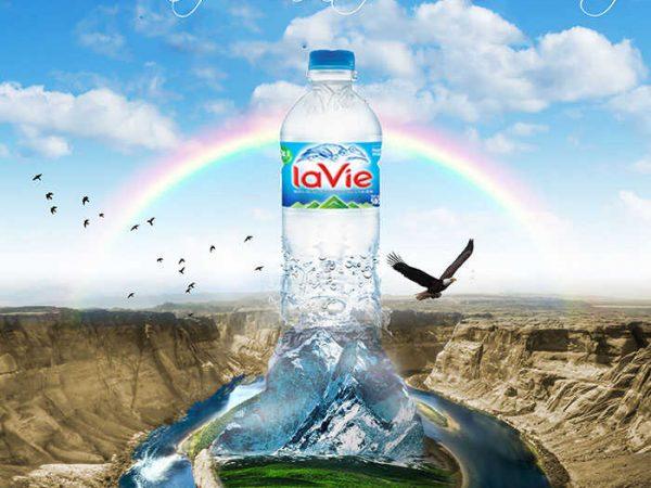 Đại lý nước uống đóng bình 20L (19L), LAVIE luôn là tốt nhất