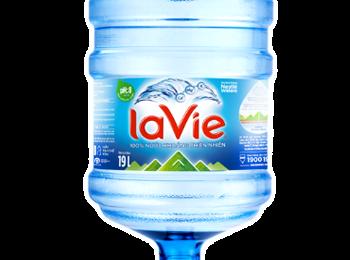 Bình nước LaVie 19l, nước khoáng LaVie bình 19 lít đặt nước LaVie