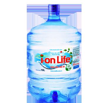 Bình nước Ion Life 19l, nước Ion Life 20l giao nhanh miễn phí
